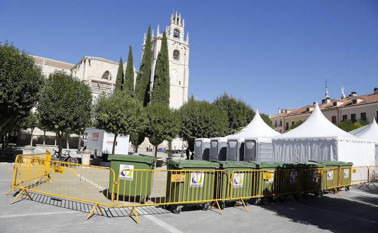 MasterChef Junior prepara su programa en Palencia