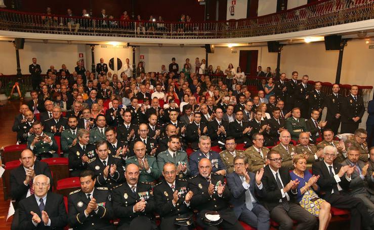 La Policía Nacional de Segovia celebra su patrón