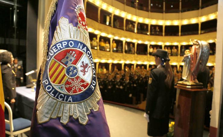 Fiesta de los Angeles Custodios de la policia nacional en Palencia
