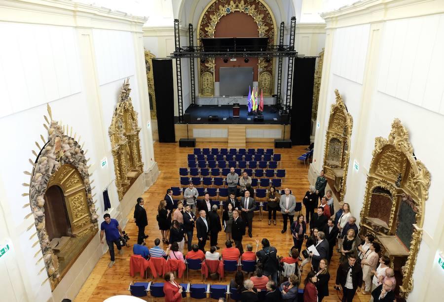 Tordesillas recupera la antigua iglesia del Carmelo para actividades culturales