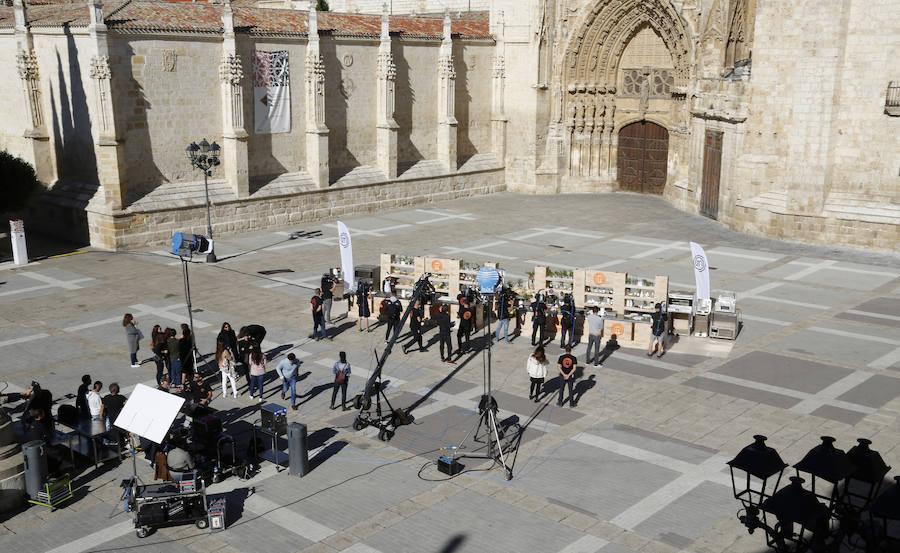 Expectación en Palencia ante las cocinas de MasterChef Junior
