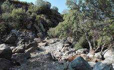 Piden a la CHT que deje la zona de la presa del Puente Nuevo «en condiciones»