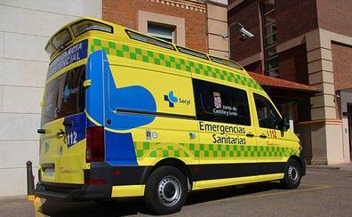 Dos heridos en una accidente de tráfico en Bernuy de Porreros
