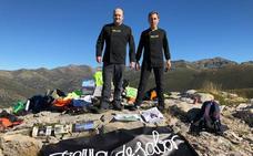 Dos cocineros palentinos cocinan a las faldas del mítico Espigüete para despertar la atención institucional