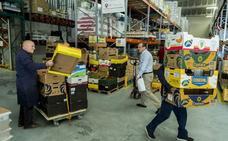 Vuelve a crecer el número de personas que recurren al Banco de Alimentos de Valladolid