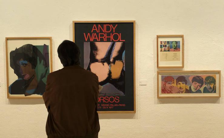 Exposición 'Pop Art: The Fab 4' en la sala de la Pasión de Valladolid