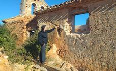 La diócesis de Osma-Soria reconoce la dificultad de vigilar el patrimonio de los despoblados de la provincia