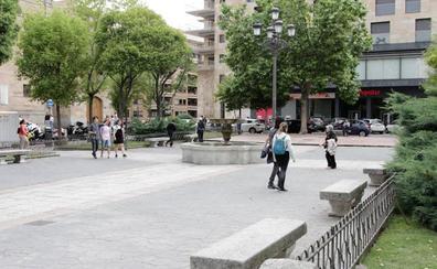 La reforma de la plaza de Los Bandos permitirá convertirla en sede de la Feria del Libro