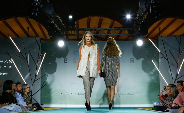 Desfile de moda otoño-invierno de El Corte Inglés de Salamanca (1/2)