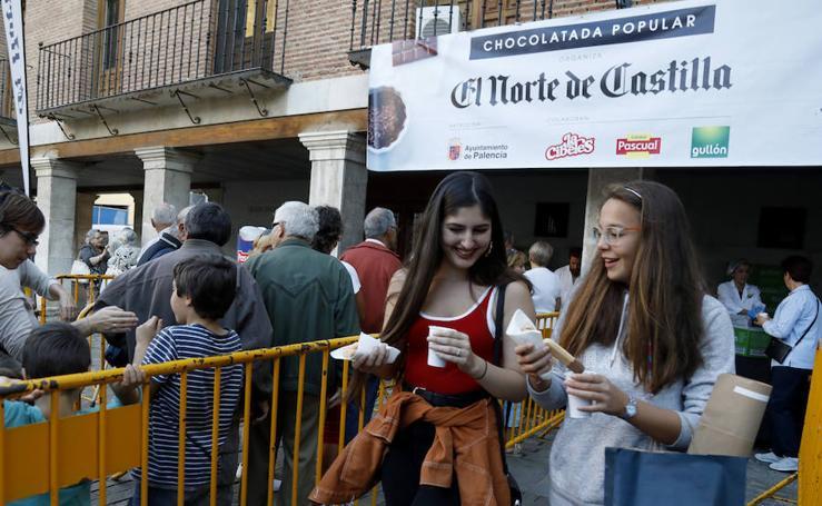 Degustación de chocolate de El Norte de Castilla en Palencia