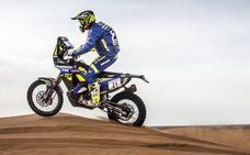 Santolino firma un buen séptimo puesto y recupera posiciones tras la segunda etapa en Marruecos