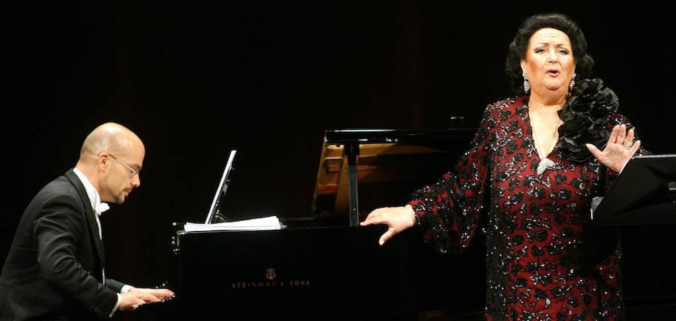 La noche que Montserrat Caballé cautivó a Valladolid