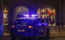 Detenido por presuntas amenazas y daños en un piso de la calle Alfonso IX en Salamanca