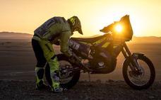 El polvo y dos errores de navegación obligan a Santolino a remontar en el Rally de Marruecos