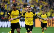 Alemania devuelve la sonrisa a Alcácer