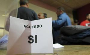 La plantilla de Vestas respalda con un 93% de apoyos el acuerdo y pone fin a 101 días de huelga