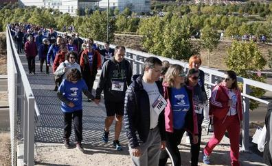 Más de 2.100 personas se suman a la caminata solidaria del Banco de Alimentos en Valladolid