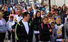 Más de dos mil segovianos acompañan a Apadefim en su marcha