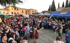 La Feria Medieval atrae a numeroso público en el fin de las actividades de verano en Ciudad Rodrigo
