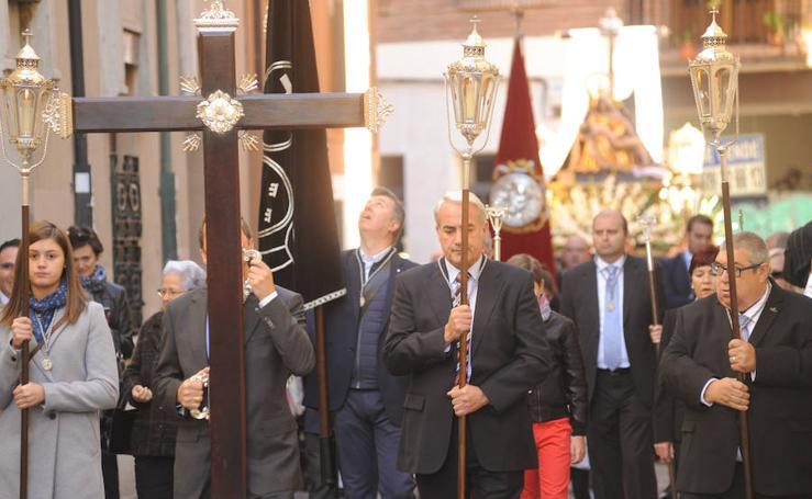 Procesión de Nuestra Señora de la Pasión en Valladolid