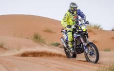 Una avería deja a Santolino fuera de la tercera etapa en el rally de Marruecos