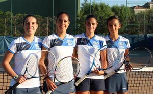 El Club Deportivo Tenis Alba de Tormes Femenino asciende a la Segunda División Nacional