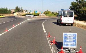 Una decena de conductores dan positivo por alcoholemia en Palencia