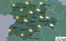 Castilla y León registra ocho de las diez temperaturas más bajas del país la pasada madrugada con hasta 4,4 grados bajo cero