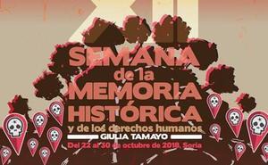 Llega a Soria la XII Semana de la Memoria Histórica y los Derechos Humanos Giulia Tamayo