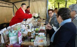 El mercado ecológico de Cuéllar ofrece los mejores productos naturales