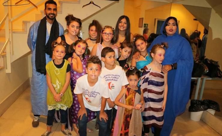 Desfile de moda en favor del Sahara