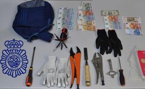 Detenidos cuatro miembros de una banda por robar en quince viviendas de Ávila