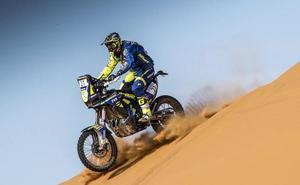 Santolino se reengancha en Marruecos con un excelente séptimo puesto tras una odisea para seguir en carrera