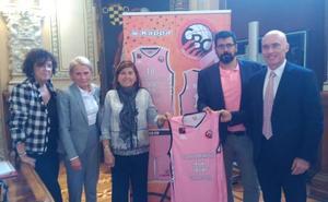 El Ciudad de Valladolid visibiliza la lucha contra el cáncer de mama