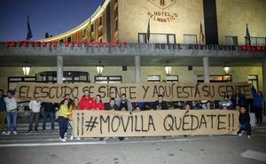Las peñas oficiales del Salamanca CF UDS también apoyan a Movilla y piden la dimisión del presidente