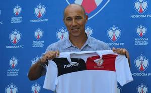 Antonio Calderón, en el Curso de Formación Continua Licencia UEFA a la espera de que se concrete su llegada al Salamanca CF UDS