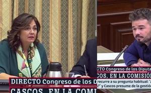 La segoviana Beatriz Escudero responde al insulto de Rufián: «No me guiñes el ojo, imbécil»