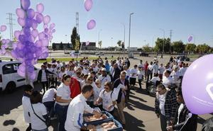 Hermanas Hospitalarias organiza una marcha con 200 personas por el Día de la Salud Mental