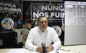 Casi 500 personas han firmado ya una petición para que Carlos Martín salga del Salamanca CF UDS