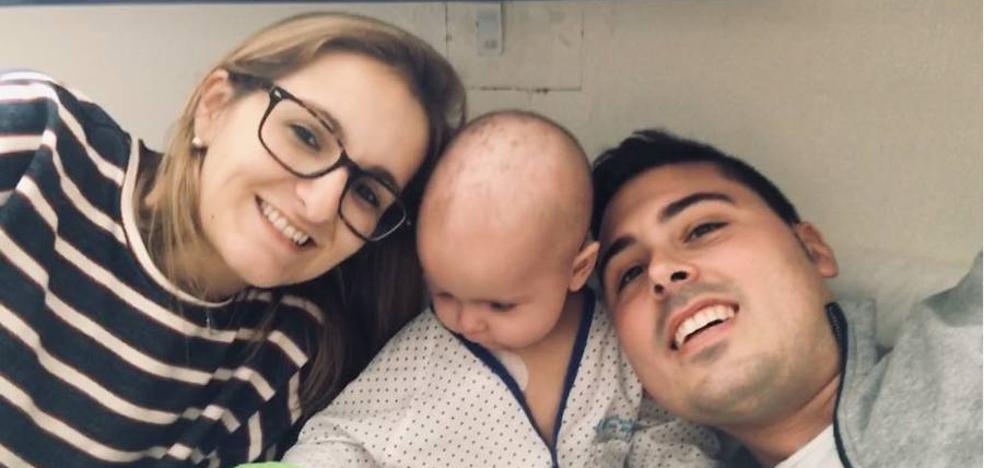 La bebé vallisoletana Cataleya vuelve a sonreír