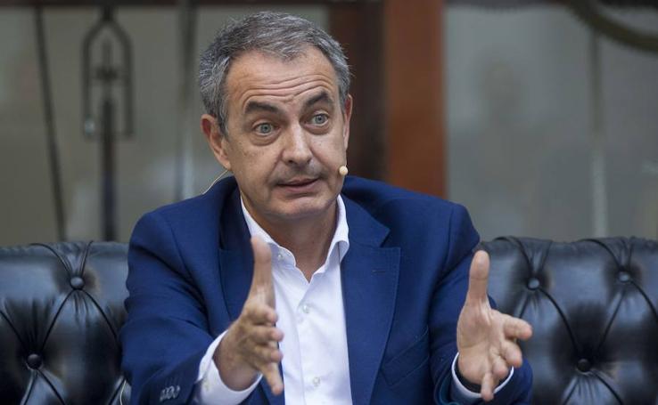 José Luis Rodríguez Zapatero participa en un acto de UGT en Valladolid