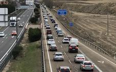 La comisión del Congreso aprueba el tercer carril de la A-62 entre Dueñas y Tordesillas
