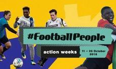 Unionistas CF se suma a la acción #FootballPeople de la plataforma FARE