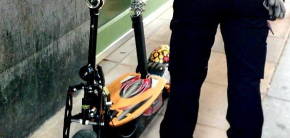 El joven denunciado por «conducción temeraria» con un patinete pagará 200 euros de multa