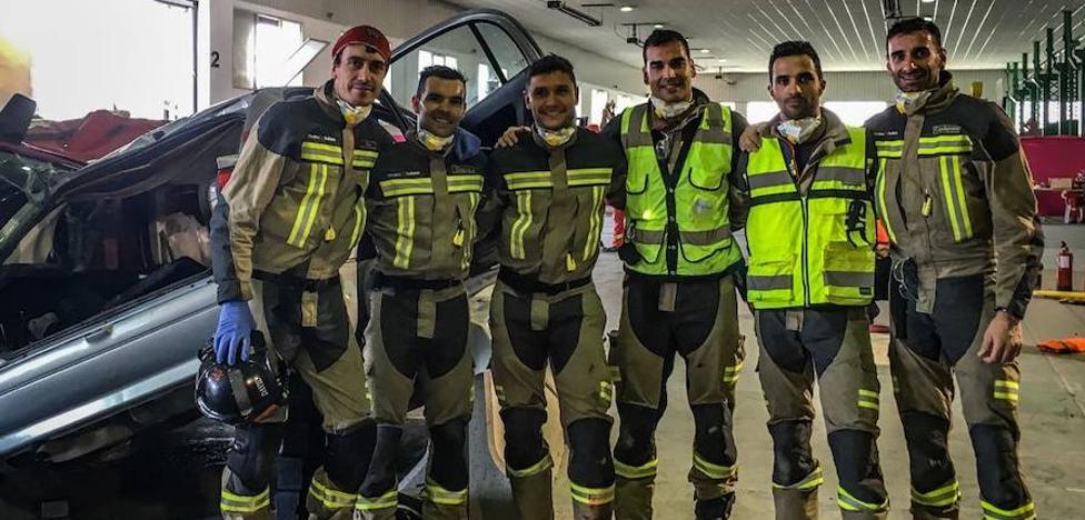 Bomberos de Medina competirán en el World Rescue Challenge en Sudáfrica