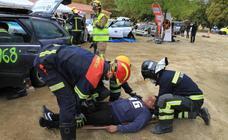 Simulacro de la Asociación de Primeros Intervinientes en Emergencias