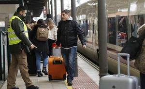 Palencia supera los 200.000 viajeros con Madrid en el tercer año de la Alta Velocidad
