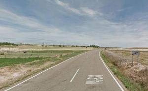 Corte por obras en la carretera de Vega de Ruiponce a Santervás