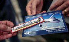 Aterriza en Nueva York el vuelo comercial más largo del mundo