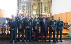 La Guardia Civil de la provincia de Palencia celebra su fiesta
